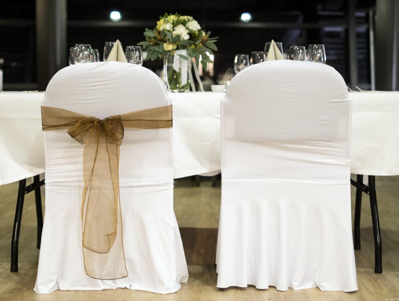 Bröllop dukning Luftkastellet Malmö