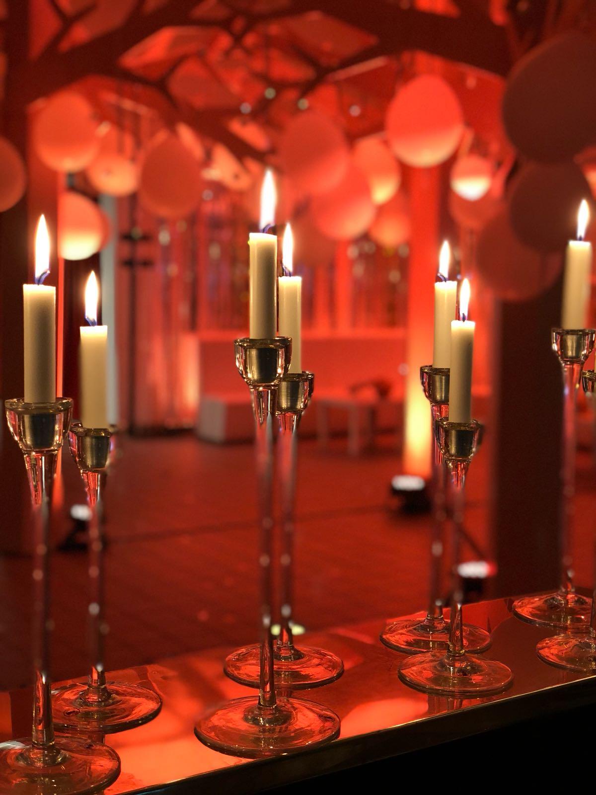 Bröllopsfest dekor