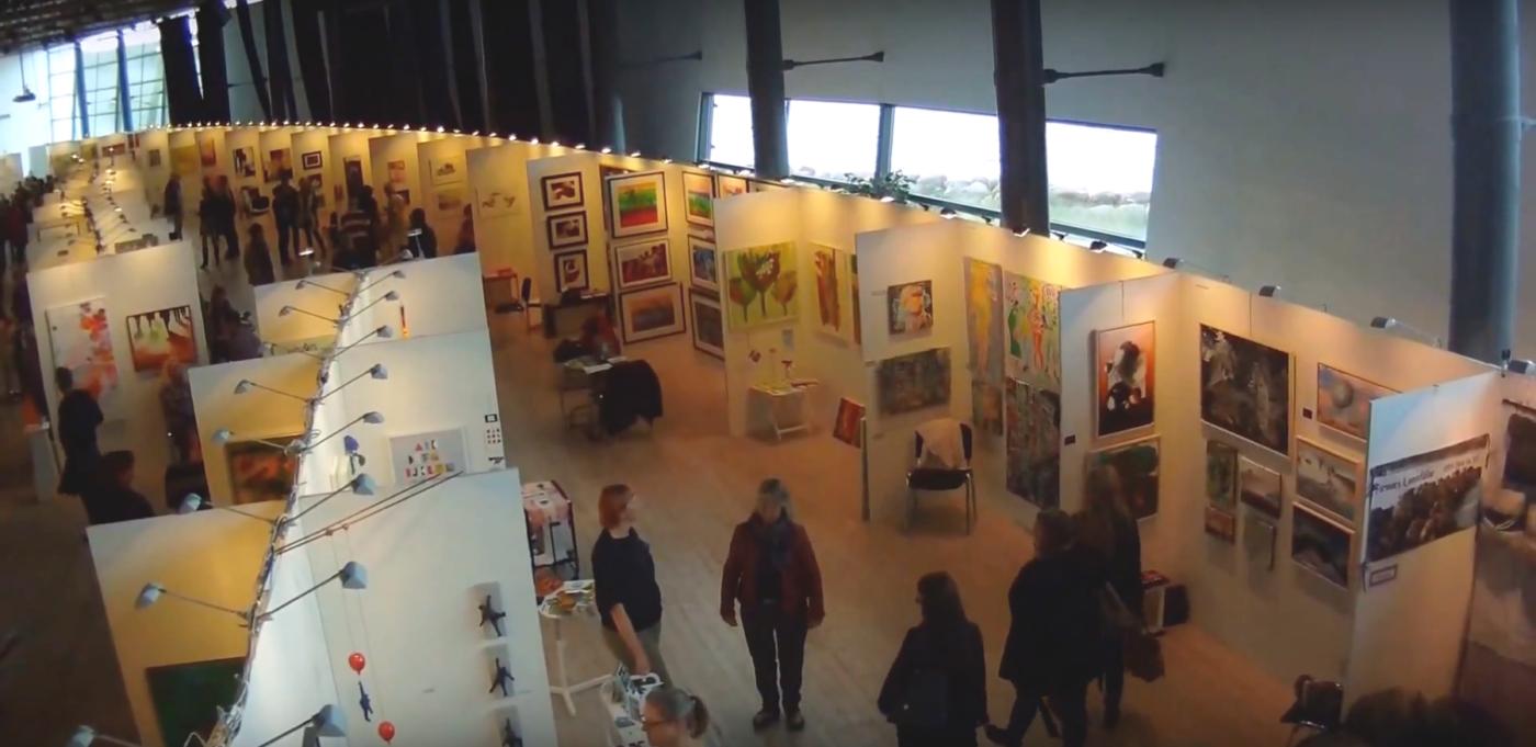Mässa utställning lokal